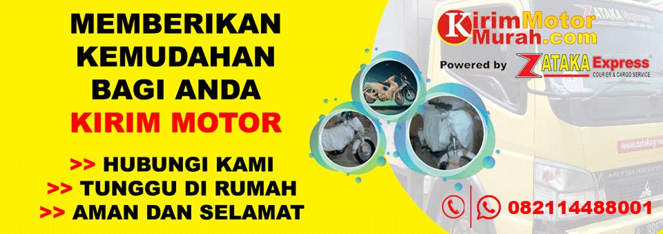 Jasa Kirim Motor Murah Dari Jakarta Tujuan Sumatera via Darat